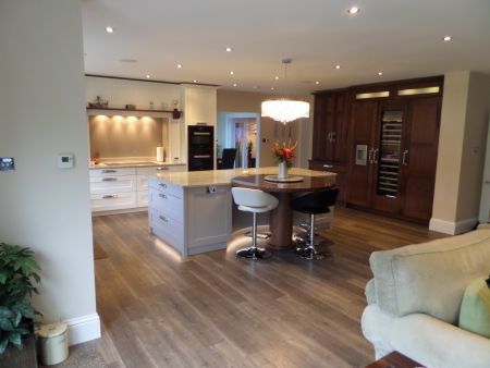 Main Kitchen and  wine  cooler